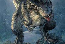 •Dinosaurs•
