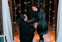 Snowy Vail Proposal / by The Heart Bandits