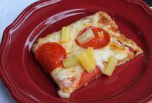 Pizzas, Quiche and Frittata - GF and SF
