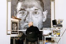 Chuck Close / by Angie Jones Art