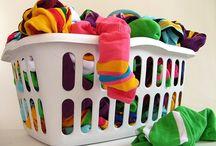limpeza (roupas e casa)
