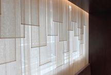 Instalaciones textiles / Formas distintas sobre usos del textil en interioriorismo y creación.