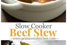 Crockpot stews / by Kim Cooper