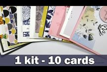 Cards- SSS  ideas / simon says stamp - kits , stamps ,