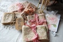Stamped fabric  / by Veronica Velasquez