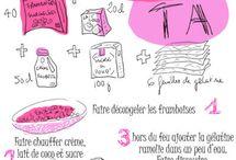 Recettes sucrées, salées illustrées... / by Nathalie Pedreno