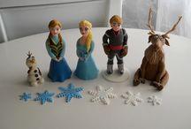 Figure / Handmade marzipan figures