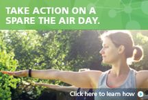 Spare The Air Day Activities / When a Spare The Air day is declared it means that the air quality is poor and can be unsafe for sensitive groups such as children, athletes, the elderly, expecting moms, or anyone that suffers from respiratory problems. Learn how to take action on a #Sacramento region Spare The Air day, protecting you and your families health and helping to reduce air pollution.