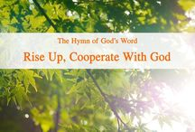 """The Hymn of God's Word """"Rise up, Cooperate With God""""   Eastern Lightning"""