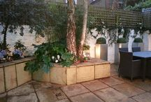 Chiddingstone st patio garden