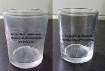 Limpiar vasos