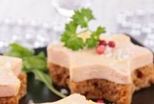 foie gras en amuses bouches pour noel