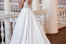 Satin wedding dresses / Gorgeous wedding dresses satin атласные свадебные платья