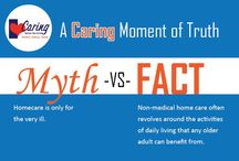 Caring Moments of Truth / Dispelling myths about non-medical home care.