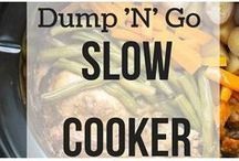 slow cooked just dump it meals