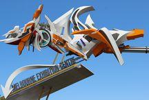Melbourne 3D Graffiti Art