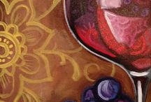 Wine and canvas / by Mary Elsarelli