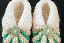 BEAUTIFUL KNITTED BOOTIES