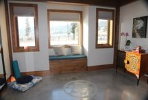 Marvellously Modern / Take a peek at the modern timber frame home Andre helped build for his nephew in Kamloops, British Columbia.