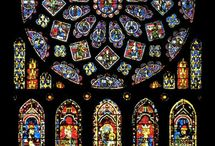 Stained Colourful Glass
