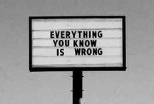 Saying things
