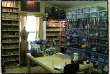 scraproom ideas and storage