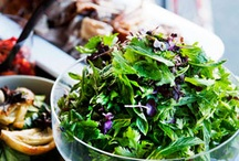 Recipes: Salads & Light Pizzas / by Rouxbe Online Cooking School