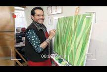Juan José Origel descubrió ¡que tiene talento como pintor!