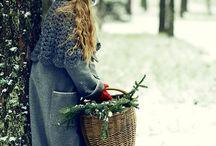겨울 ..