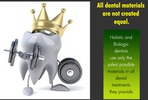 """Holistic Dental care / An approach to dental treatment, primarily caring for patient's health and safety from both a conventional as well as an """"alternative healthcare"""" point of view."""