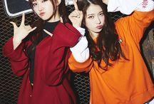 Pristin / Nayoung, Seungyeon, Yuha, Yehana, Rena, Kyulkyung, Xiyeon, Kyla, Eunwoo, Roa