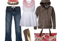 cute clothes / by Haley Phillips