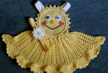 vestidinhos de croche