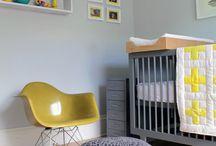 Kinderzimmer / Farb-Ideenplanung