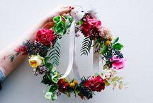 Couronne bouquet
