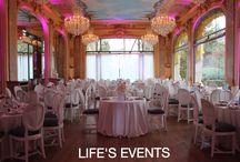 Pavillon Dauphine / Deco mariage vintage chic
