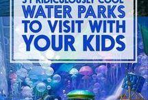 aquapark for kids / Референсы и мудборд для детского аквапарка