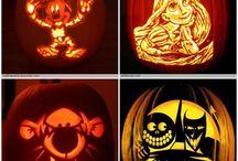 Pumpkin stensills