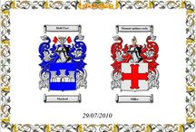 Double Coats of Arms print
