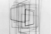 Transparent paper art