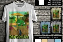 Kaos Bad Piggies | Bad Piggies T-shirt
