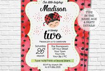 Ladybug Birthday Party / Ideas for your ladybug themed birthday party.