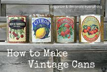 Vintage Cans
