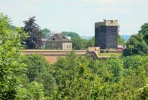 navštívené hrady, zámky, zříceniny, kláštery...
