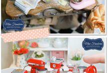 Miniaturen für Puppenhäuser
