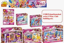 COBI Poland launched series 2 Winx Club Building Sets.