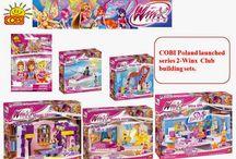 COBI Poland launched series 2 Winx Club Building Sets.
