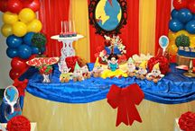 Snow White birthday party theme