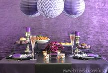 Dark Romance Party {Purple & Black} / by Mallery Schuplin