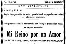 Teatros y cines en retrospectiva  / by Archivo El Nacional